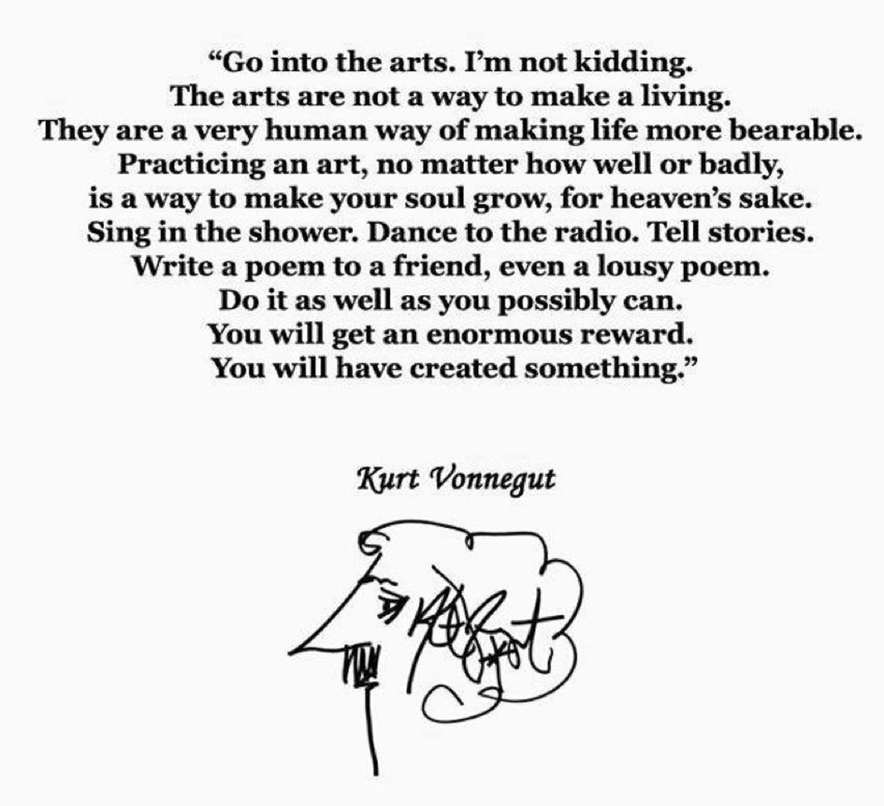 Kurt Vonnegut's quote #8