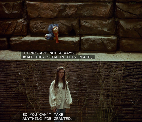 Labyrinth quote #1