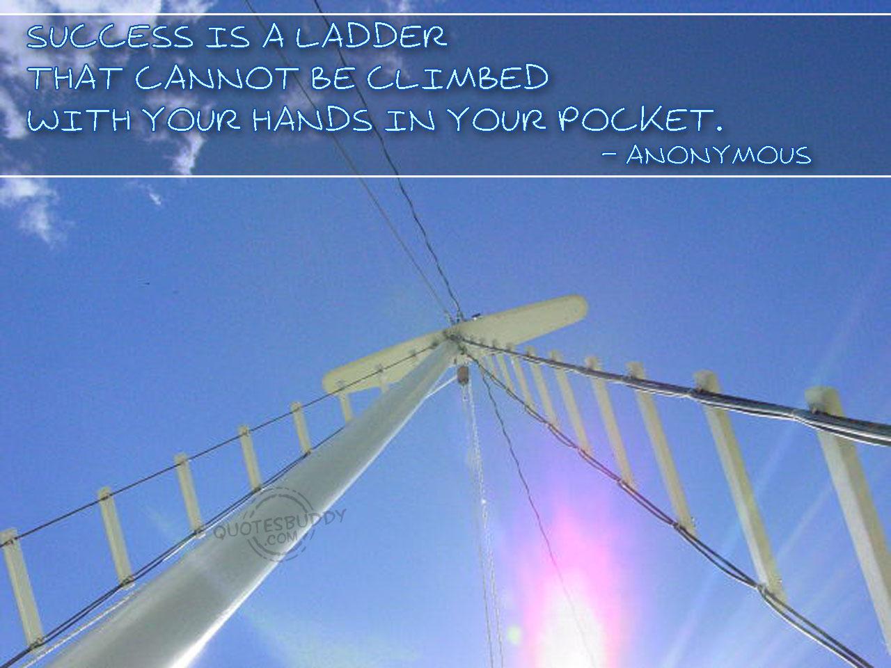 Ladder quote #2