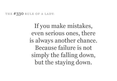 Ladylike quote #1