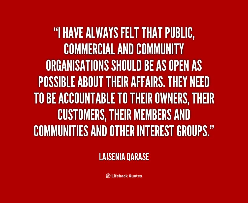 Laisenia Qarase's quote #1