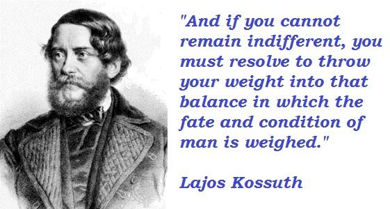 Lajos Kossuth's quote #4