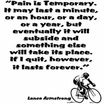 Lance Armstrong quote #2