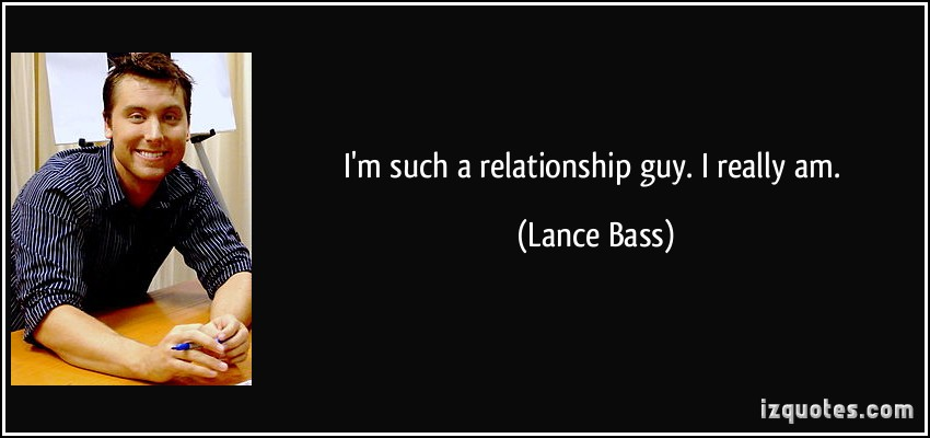 Lance Bass's quote #2