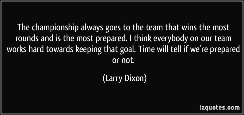 Larry Dixon's quote #2