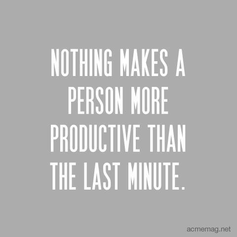 Last-Minute quote #1