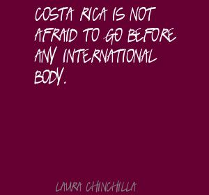Laura Chinchilla's quote #4
