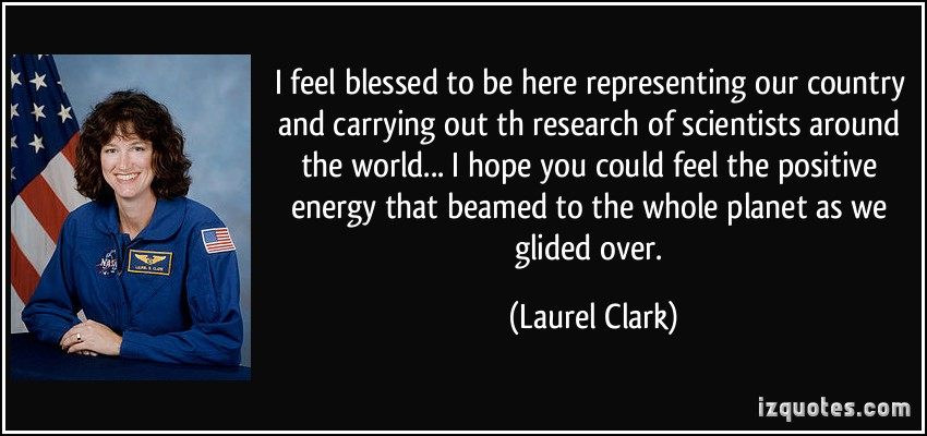 Laurel Clark's quote #2