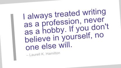 Laurell K. Hamilton's quote #4