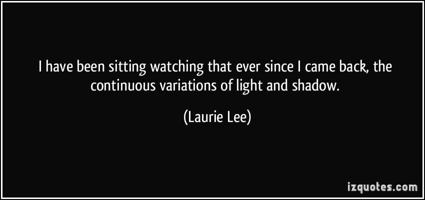 Laurie Lee's quote #4