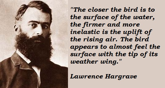 Lawrence Hargrave's quote #1