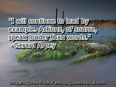 Lead By Example Image Quotation 1 Sualci Quotes