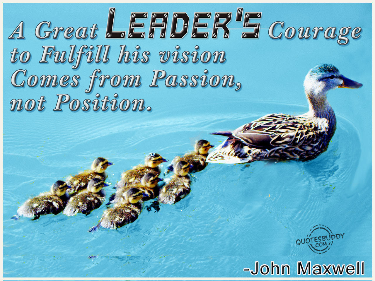 Leadership quote #3