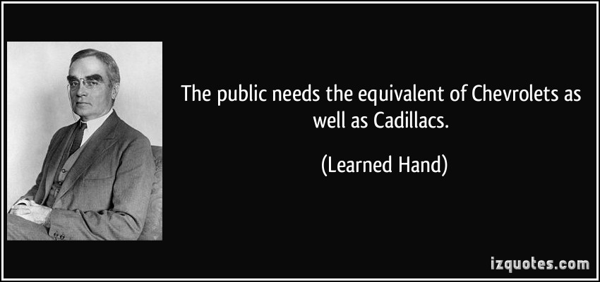 Learned Hand's quote #2