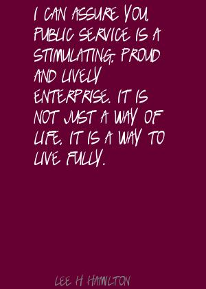 Lee H. Hamilton's quote #6