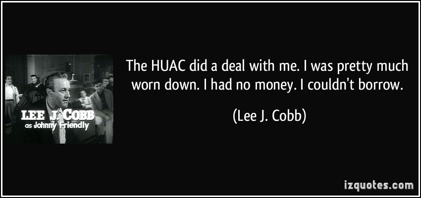 Lee J. Cobb's quote