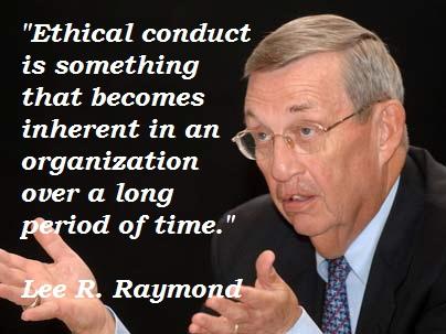 Lee R. Raymond's quote #6