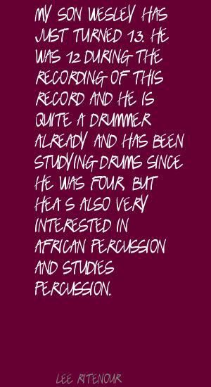 Lee Ritenour's quote #6
