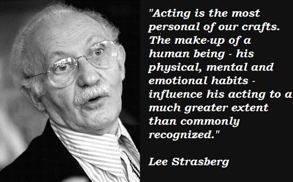 Lee Strasberg's quote #1