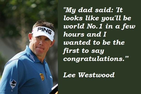 Lee Westwood's quote #2
