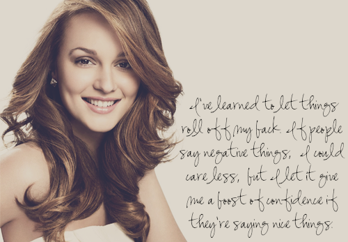Leighton Meester's quote #7