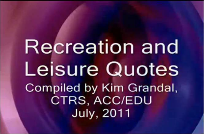 Leisure quote #3