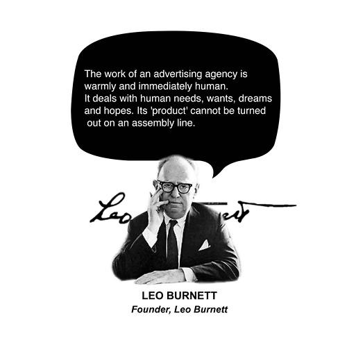 Leo Burnett's quote #4