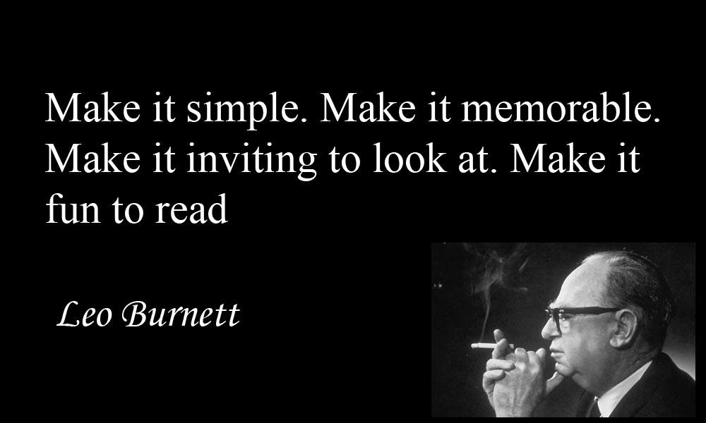 Leo Burnett's quote #7