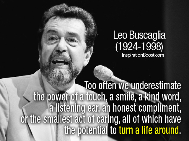 Leo Buscaglia's quote #6