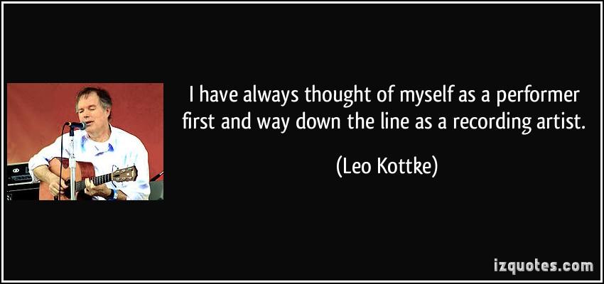 Leo Kottke's quote #3