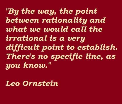 Leo Ornstein's quote #3