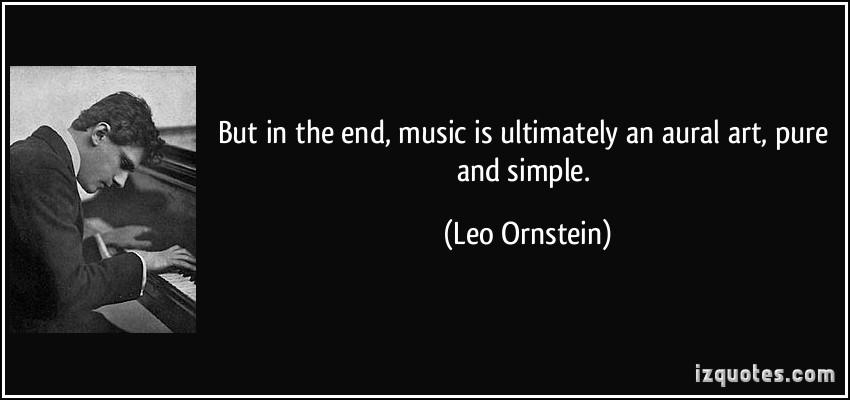 Leo Ornstein's quote #4