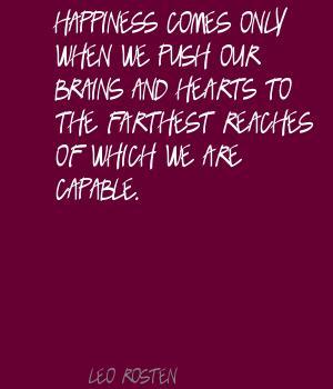 Leo Rosten's quote #2