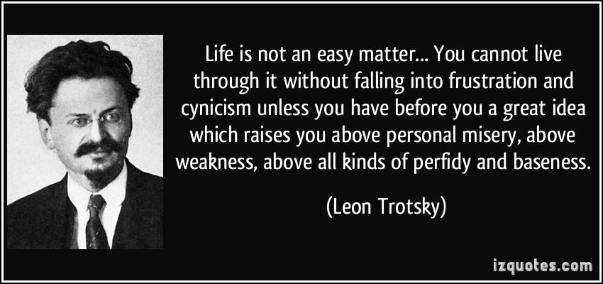 Leon Trotsky's quote #1
