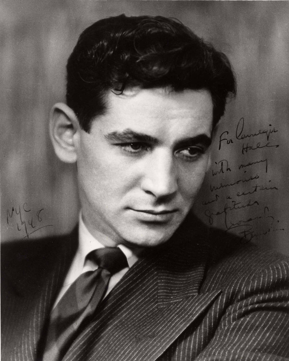 Leonard Bernstein The Power of Music is the first largescale museum exhibition to illustrate Leonard Bernsteins life Jewish identity and social activism