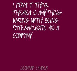 Leonard Lauder's quote #4