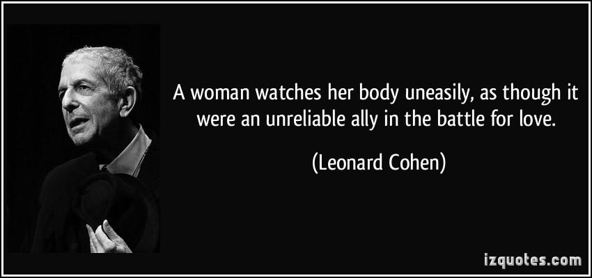 Leonard quote #1
