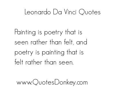 Leonardo quote #1