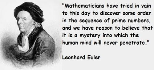 Leonhard Euler's quote #1