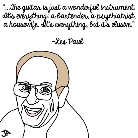 Les Paul's quote #3