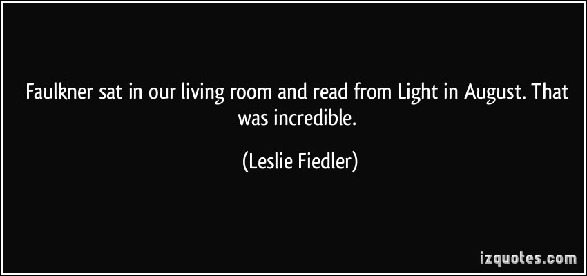 Leslie Fiedler's quote #4