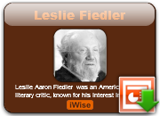 Leslie Fiedler's quote #5