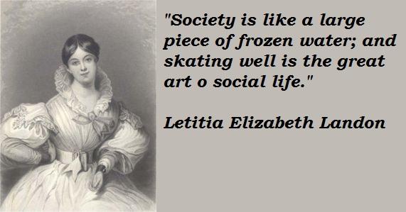 Letitia Elizabeth Landon's quote #2