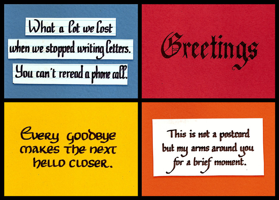 Letter quote #1