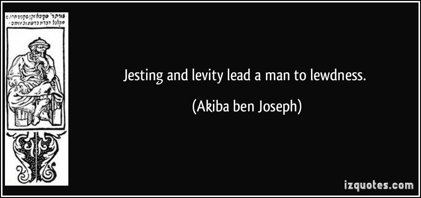 Levity quote #1