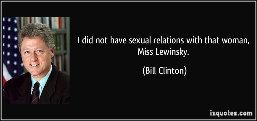 Lewinsky quote #1