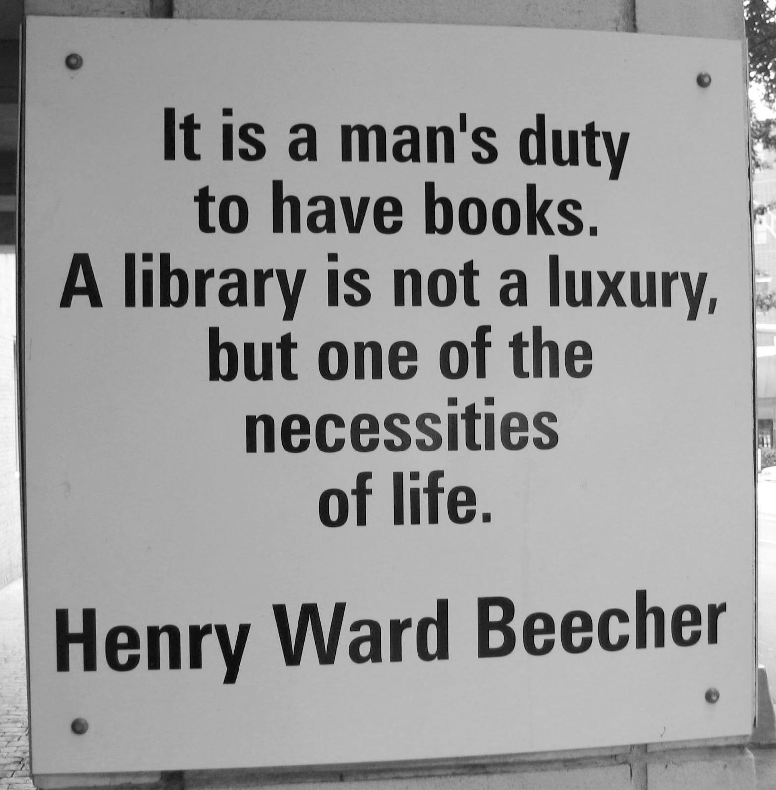 Library quote #3