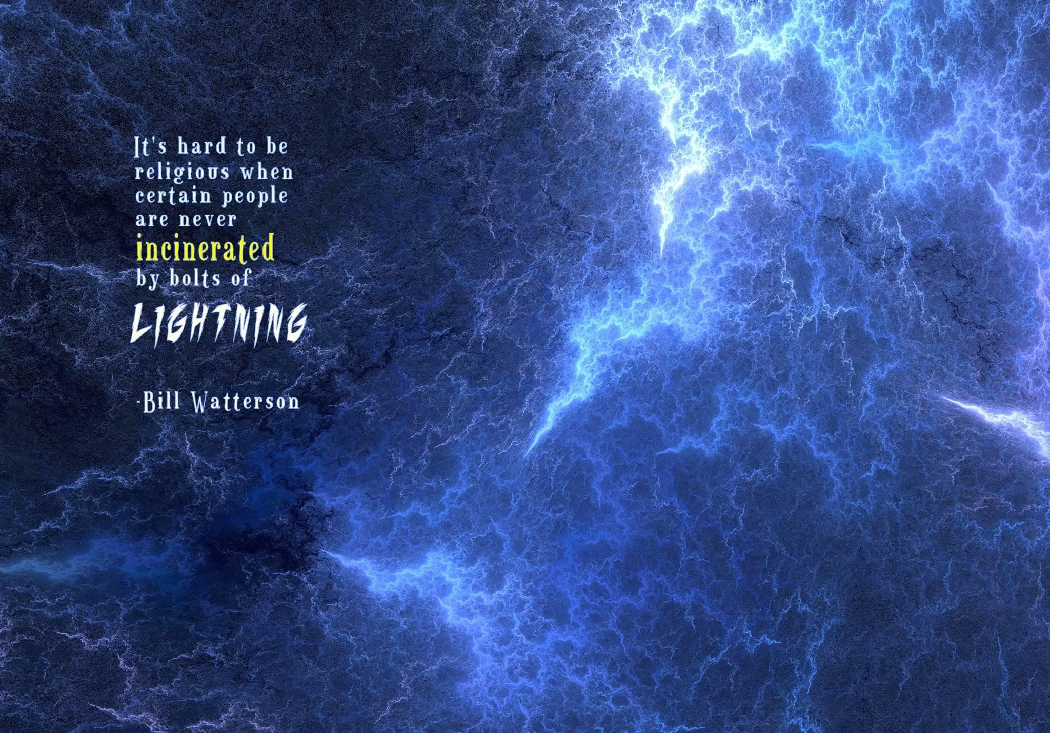 Lightning quote #4