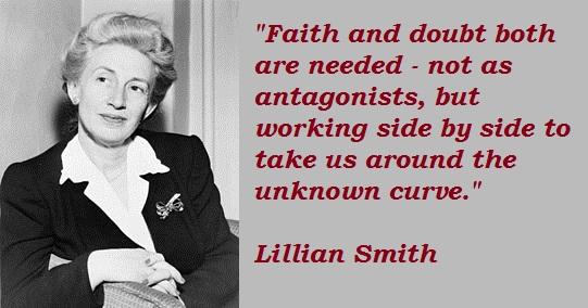 Lillian Smith's quote