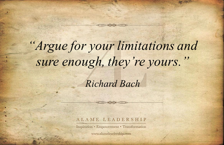 Limitation quote #1